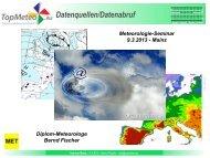 Bernd Fischer - Meteorologie Seminar, Datenabruf (PDF)