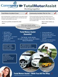 Working together Total Motor Assist – With You All The Way Total ...