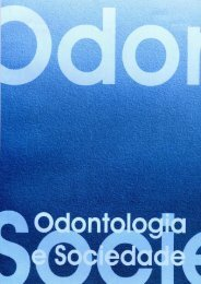 Volume_8_n_1_2_2006 - Faculdade de Odontologia - USP
