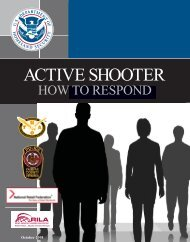 Active Shooter Booklet - Training and Organizational Development