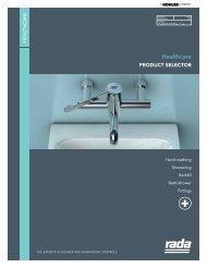 Healthcare Product Selector - Rada