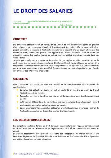 Relation employeur salarie maillage for Chambre de salaries