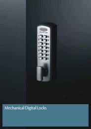 Mechanical Digital Locks - Seymour Locksmiths