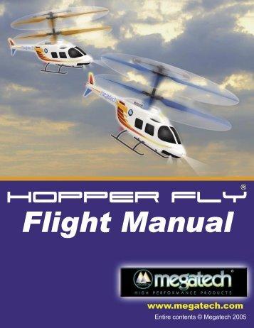 Hopper-Fly Instruction Manual - High Definition Radio Control