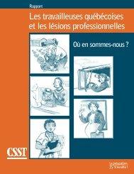 Télécharger le PDF (965 ko )Les travailleuses québécoises - CSST