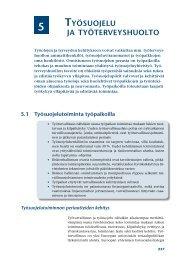 5. Työsuojelu ja työterveyshuolto - Työterveyslaitos