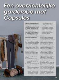 Een overzichtelijke garderobe met Capsules - Dress4Success