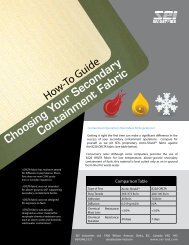 How-To Guide Choosing Your Secondary ... - SEI Industries Ltd.