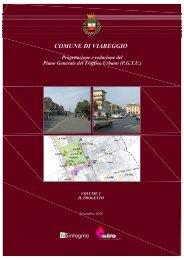 Relazione del piano del traffico - Comune di Viareggio