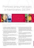 INDUSTRIE Pompes pneumatiques à membranes DESMI ... - Page 2