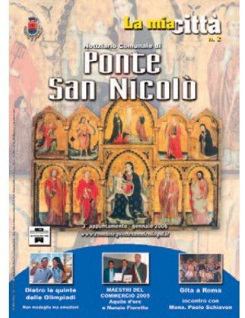 Notiziario comunale N. 1/2006 - Comune di Ponte San Nicolò