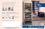 LIEBHERR 'Wijnspecial' - Pasteuning