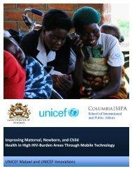 Improving Maternal, Newborn, and Child Health in High HIV-Burden ...