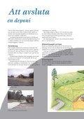 Att avsluta en deponi - Page 2