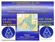 «UN BASSIN, 9 PAYS, UNE VISION» «ONE BASIN, 9 ... - INBO