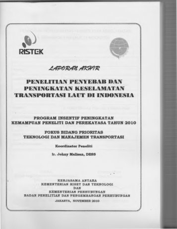 RISTI::K - KM Ristek - Kementerian Riset dan Teknologi