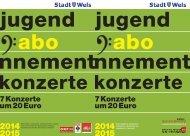 JUGENDABO KONZERTE FOLDER A6 2013-2014.indd - Stadt Wels