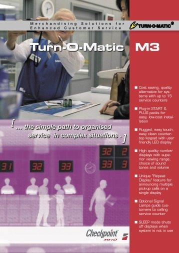 Turn-O-Matic M3 - Take A Number