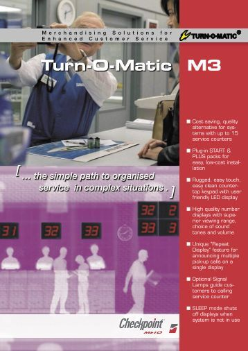Turn-O-Matic M3 - Take A Number