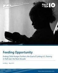 Feeding Opportunity - Center for American Progress