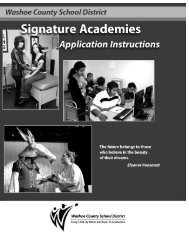 Signature Academy General Application for 2012-2013 School Year