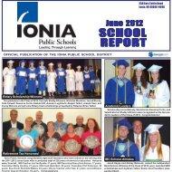 June 2012 School Report - Ionia Public Schools