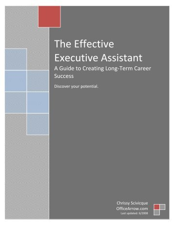 Download The Effective Executive Assistant - Amazon Web Services