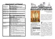 Foglietto del 24-02-2013 - Parrocchia di Gradisca d'Isonzo