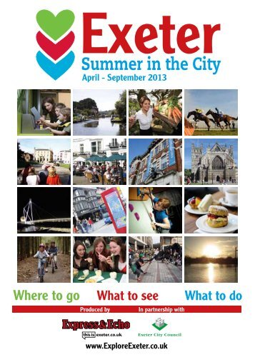 2013 Summer in the City Guide - Heart of Devon