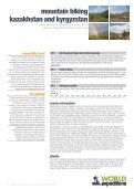 mountain biking kazakhstan and kyrgyzstan - World Expeditions - Page 5