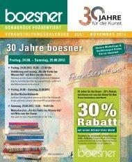 JULI – NOVEMBER 2012 - Boesner