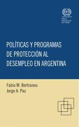 políticas y programas de protección al desempleo en argentina - Oit