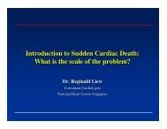 Introduction to Sudden Cardiac Death - National Heart Centre ...