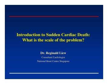 Introduction to Sudden Cardiac Death - National Heart Centre ...
