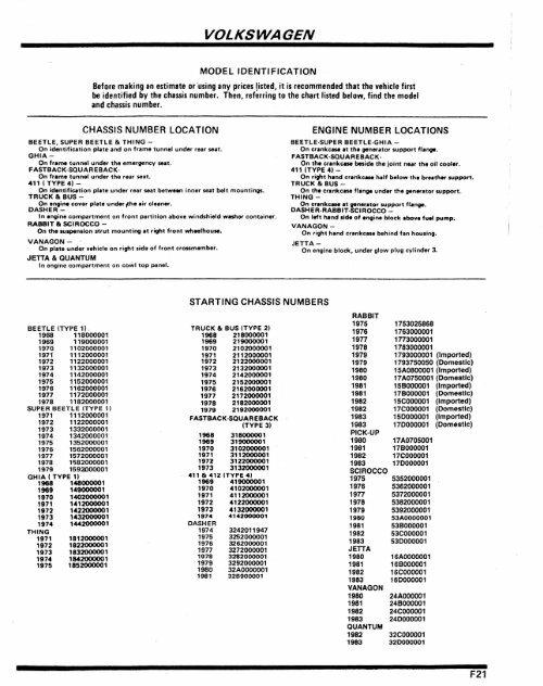 BEETLE//GHIA 68-77 Volkswagen STEERING BOX ARM