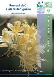Rumeni sleč - Natura 2000