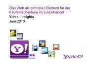 Das Web als zentrales Element für die Kaufentscheidung im ...