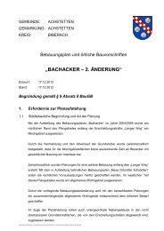 Download Begründung 2. Änderung - Wohnen am Wildpark in ...