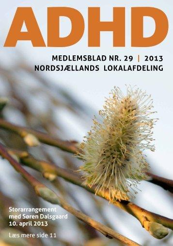 2013 nordsjællands lokalafdeling - ADHD: Foreningen