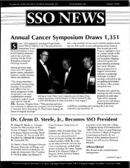 Annual Cancer Symposium Draws 1 ,351 - Society of Surgical ...