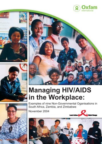 Workplace Int.Actief.indd - HIV/AIDS Clearinghouse
