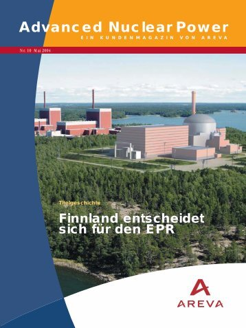 Advanced Nuclear Power - AREVA
