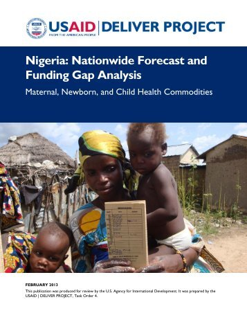 Nigeria: Nationwide Forecast and Funding Gap Analysis