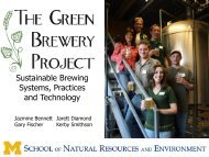 Sustainable Brewing Systems, Practices and Technology