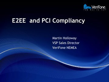 E2EE and PCI Compliancy - Retail Knowledge