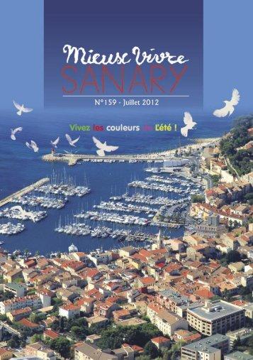 Mieux Vivre N°159 - Juillet 2012 (.pdf - 2,90 Mo) - Sanary-sur-Mer