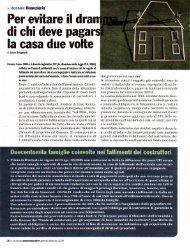 Gennaio/Febbraio 2009 – La soluzione applicata dal ... - Bruno Falzea