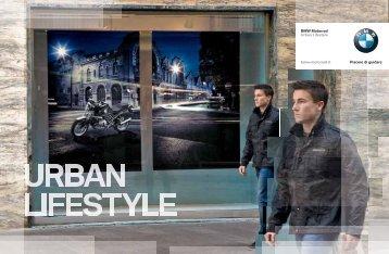 BMW Motorrad Urban Lifestyle bmw-motorrad.it Piacere di guidare