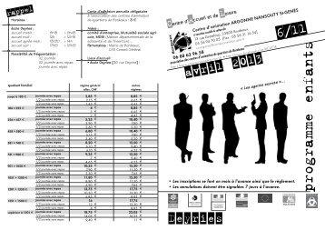Mise en page 1 - Association des centres d'animation de quartiers ...