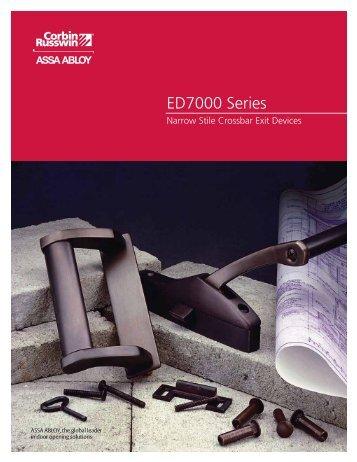 ED7000 Series - Corbin Russwin